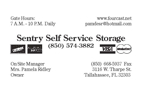Sentry Self Service Storage
